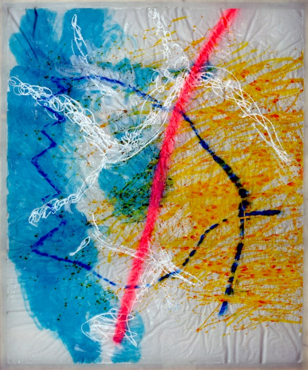 de-struction II., mixed media, resin, fiberglass, 300 x 250 cm, 2014/2015, 12.000 €