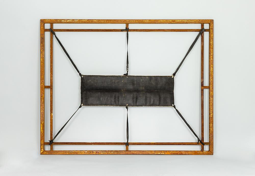Assoziation Haut 4, steel, textile, 2013, 136 x 106 cm, 3.200 €