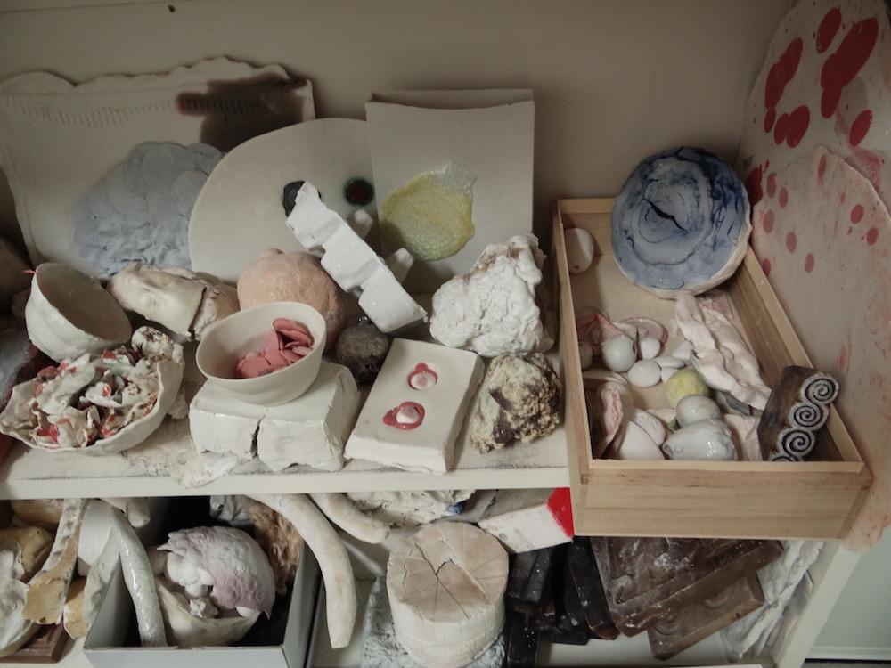 Atelier von Aino Nebel