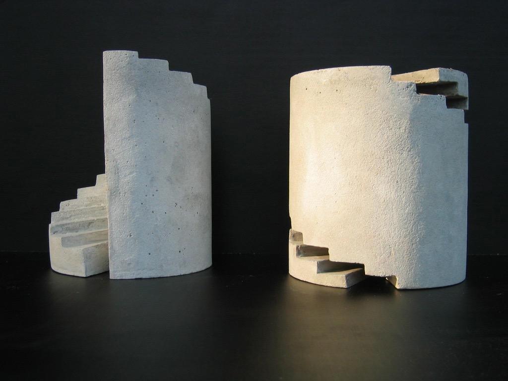 Das Paar, concrete cast, 24 x 23 cm, 2012, 3.360 €