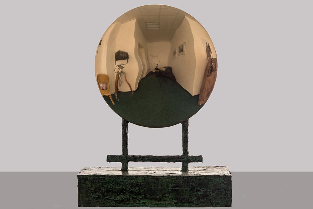 Mitternachtssonne, bronze, polished, 2010, 59 x 24 x 54 cm, 5.500 €