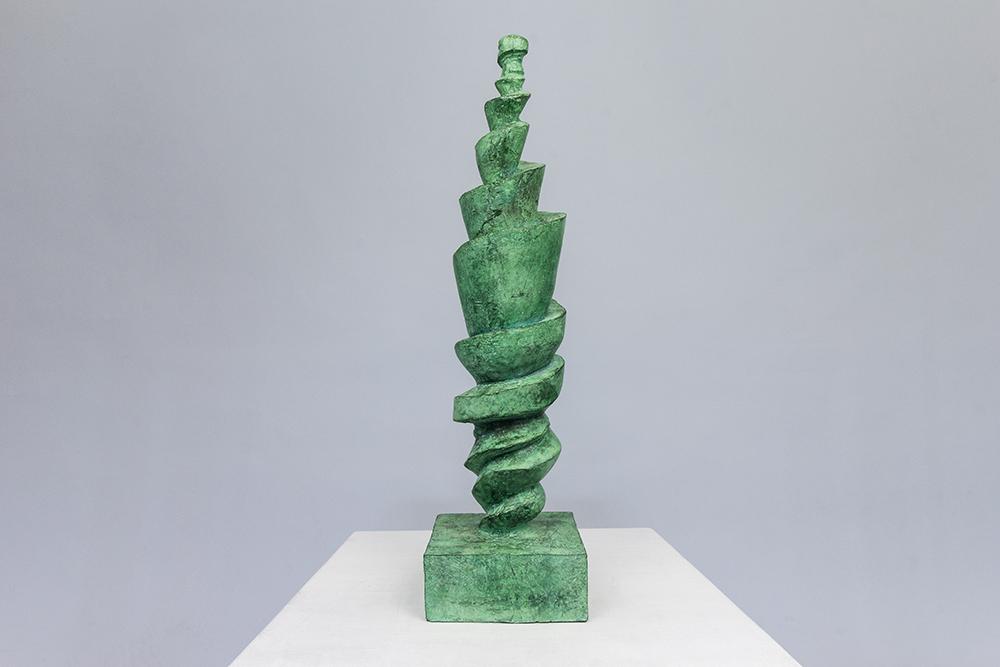 Säule, bronze