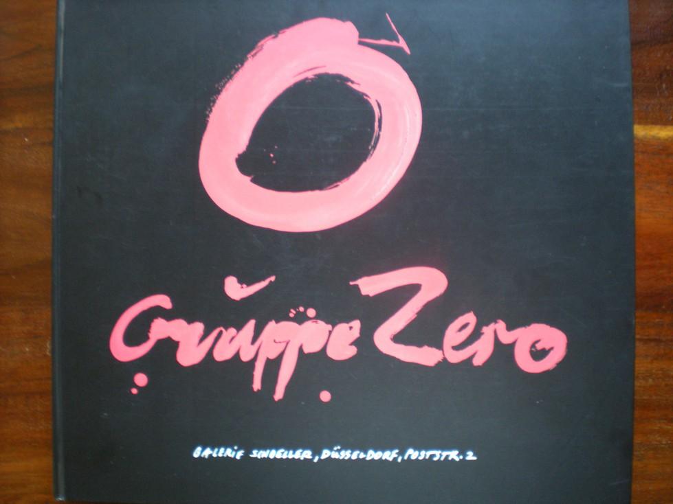 Gruppe Zero – Katalog zur Ausstellung in der Galerie Schoeller1