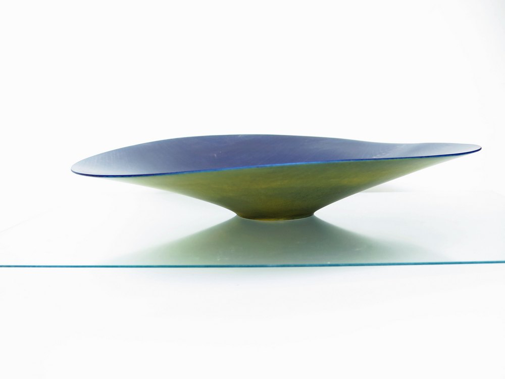 bowl green violet
