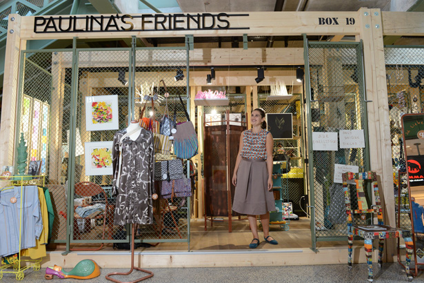 Ich und Berlin Pop Up Store Paulina´s Friends im Bikini Berlin by Siegfried Purschke (Axel Springer)