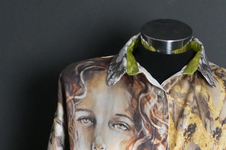 Tunika Golden Foil, Detail
