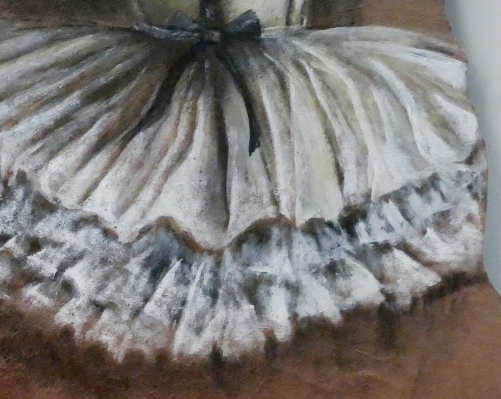 detail ballet dancer