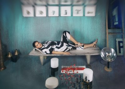 Sensation Fotoshooting Paulina Tsvetanova Kunst Desing Mode Berlin Inszenierung Kuratorin