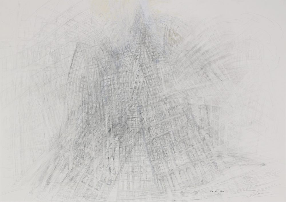 Turm Tanz Zeichnung Kunst Skulptur Kathrin Uthe Atelier