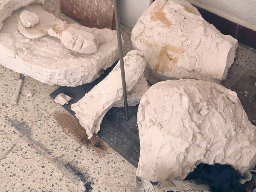 Guss Gips Tanz Zeichnung Kunst Skulptur Kathrin Uthe Atelier