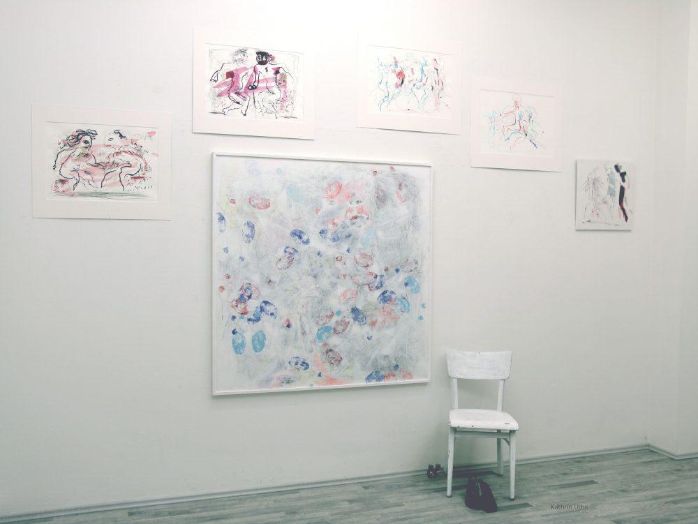 Tanz Zeichnung Kunst Skulptur Kathrin Uthe Atelier