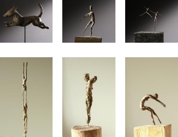 Tanz Zeichnung Kunst Skulptur Kathrin Uthe Atelier Bronze
