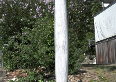 Donat Fritschy Skulptur Stein Marmor Holz
