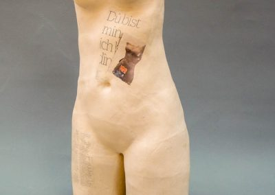 Elisabeth Schneller Skulptur Ton Holz Schweiz