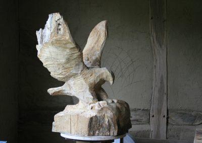 Hannes Albert Skulptur Holzbildhauer