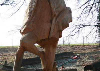 Massai Hannes Albert Skulptur Holzbildhauer