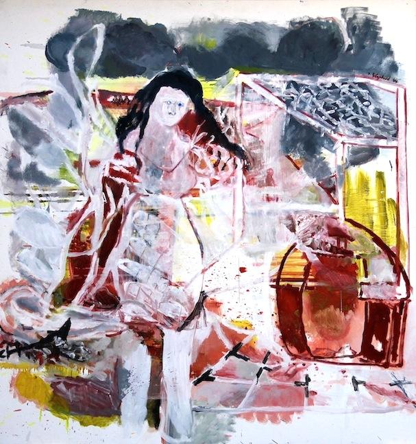 Philippe Ségalard Malerei Landschaft Frankreich Farbe