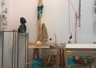 Claudia Hartwig Berlin Kunst Skulptur Installation Atelier
