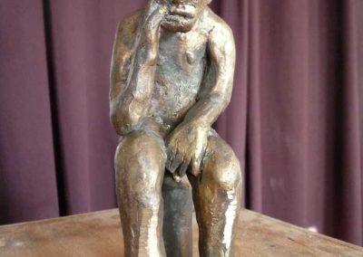 Zivilisationskritik Uwe Schwarz Skulptur