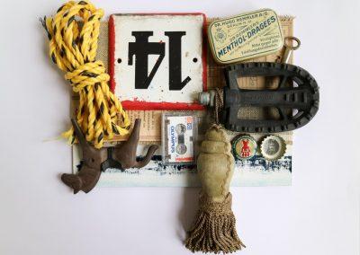 Tatawa (Wei Tan) Mixed Media Kunst Installation