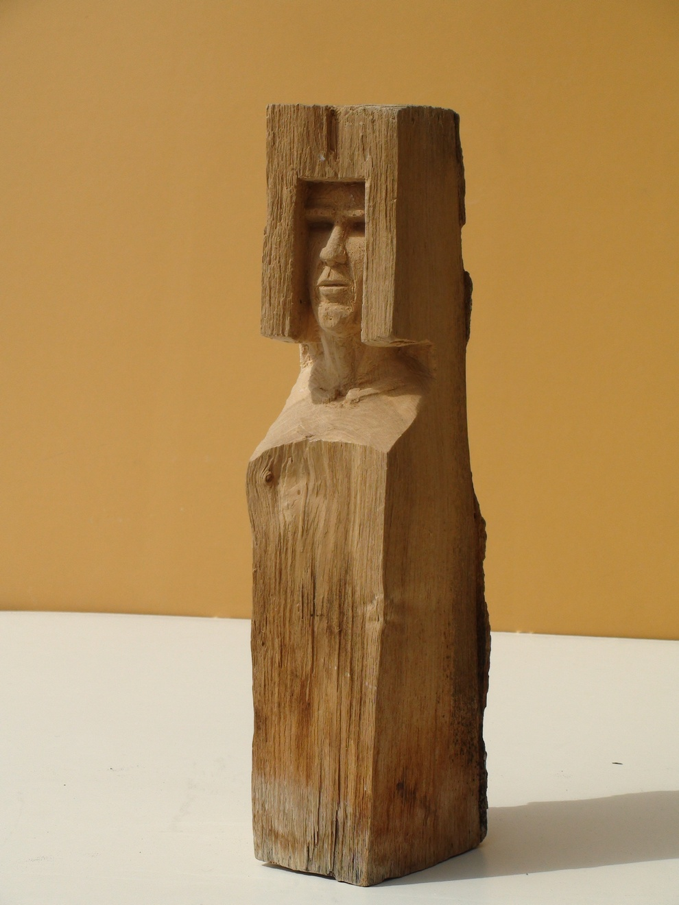 Andreas Brunolupo Berliner Bildhauer Ton Skulptur Art Brut Keramik Psychiatrie