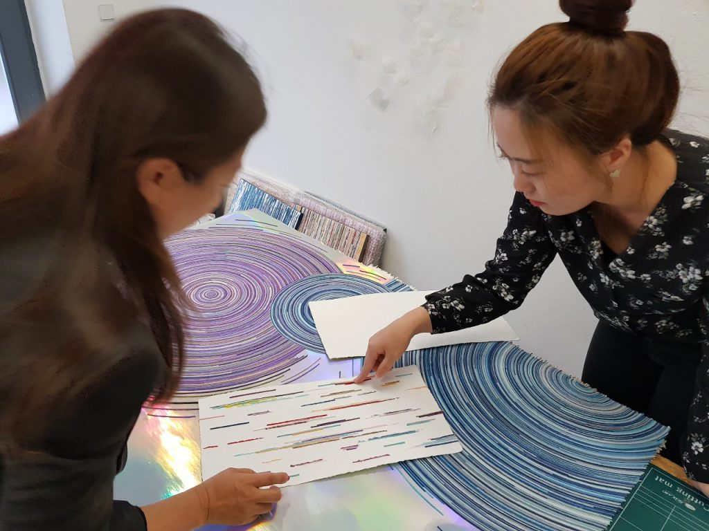 Papier Poesie Galerie Paulina's Friends Südkorea