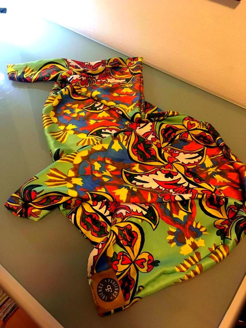 Tuch Seide Muster Fantasie Kunst