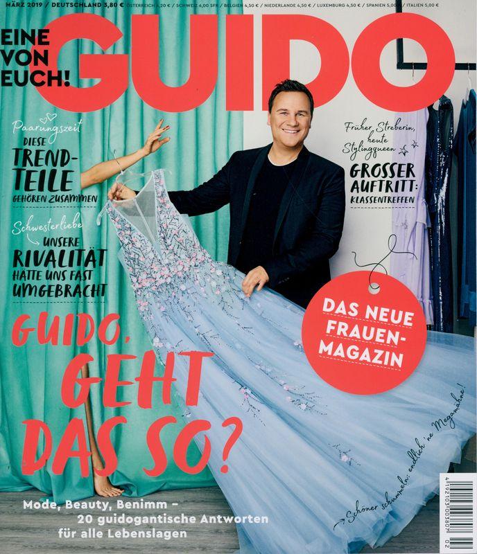Guido Magazin Guido Maria Kretschmar Das neue Frauenmagazin