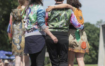 #ichtragemeinselbst auf dem Fashion Raceday Hoppegarten