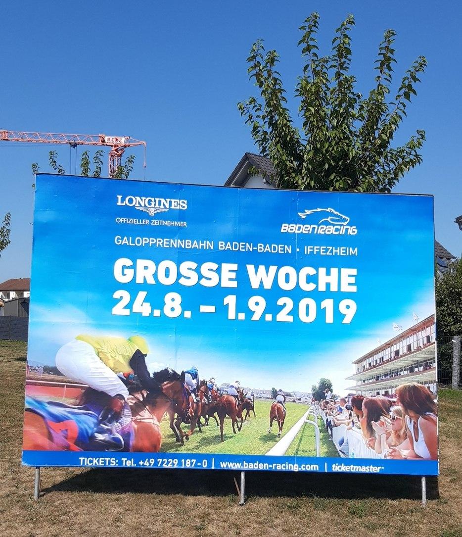 Baden Racing Iffezheim Pferderennen
